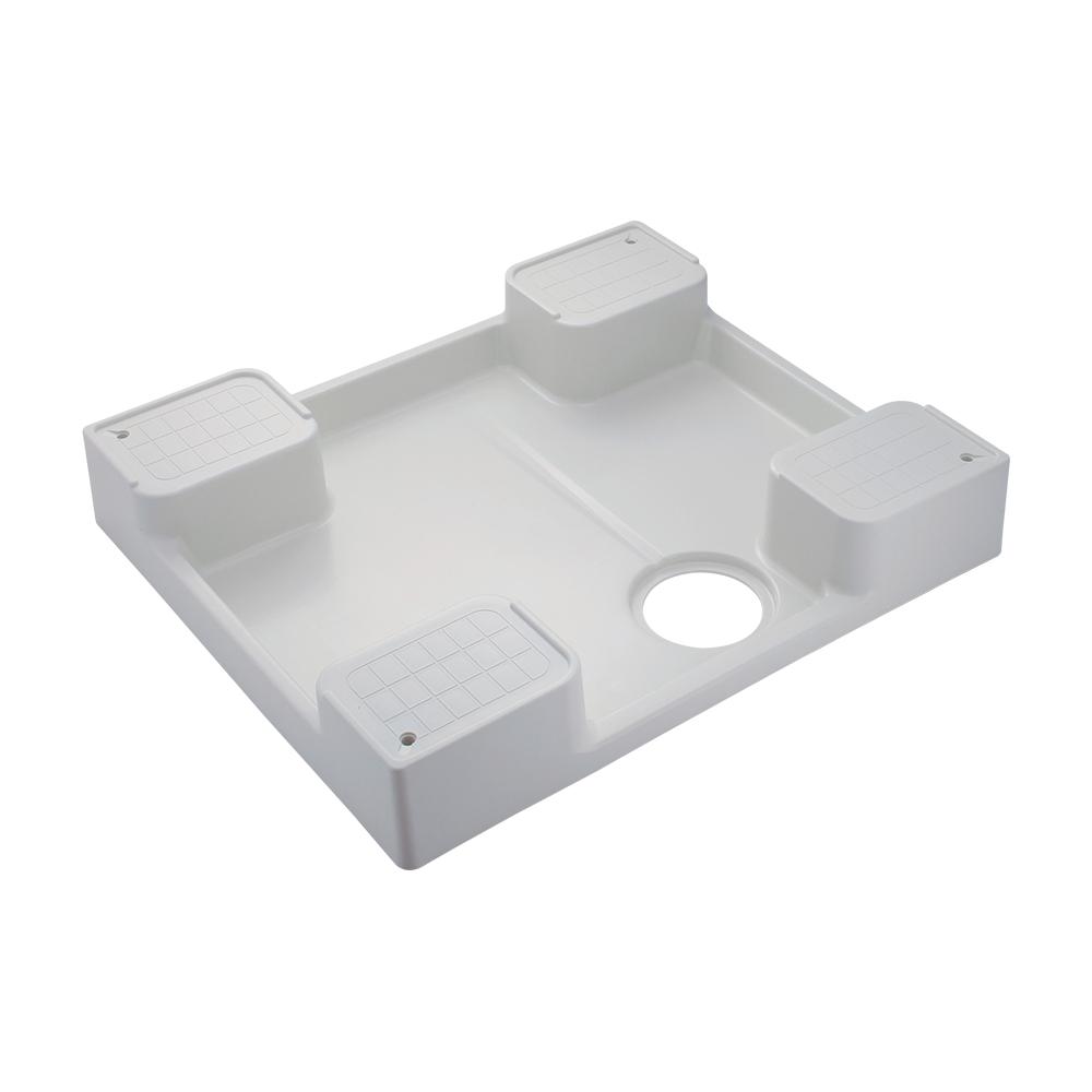 カクダイ[KAKUDAI] 【426-417-W】 洗濯機用防水パン//ホワイト 洗濯機
