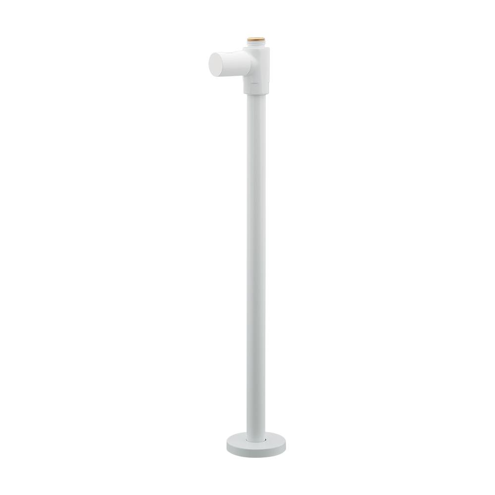 カクダイ[KAKUDAI] 【709-611-W】 ストレート形止水栓//ホワイト バルブ・止水栓