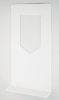 カクダイ 水受トレイ//ホワイト【434-511】[新品]