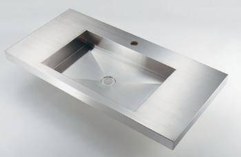カクダイ 角型洗面器【493-164】[新品]