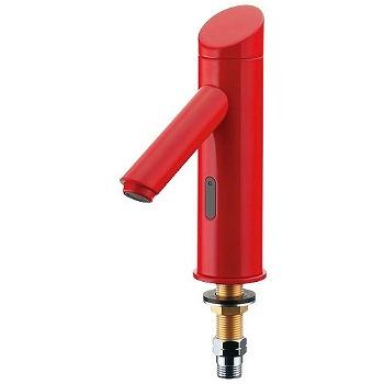 カクダイ センサー水栓 レッド 受注生産品【713-320-R】[新品]