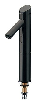 カクダイ センサー水栓(トール) ブラック 受注生産品【713-321-D】[新品]