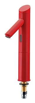 カクダイ センサー水栓(トール) レッド 受注生産品【713-321-R】[新品]