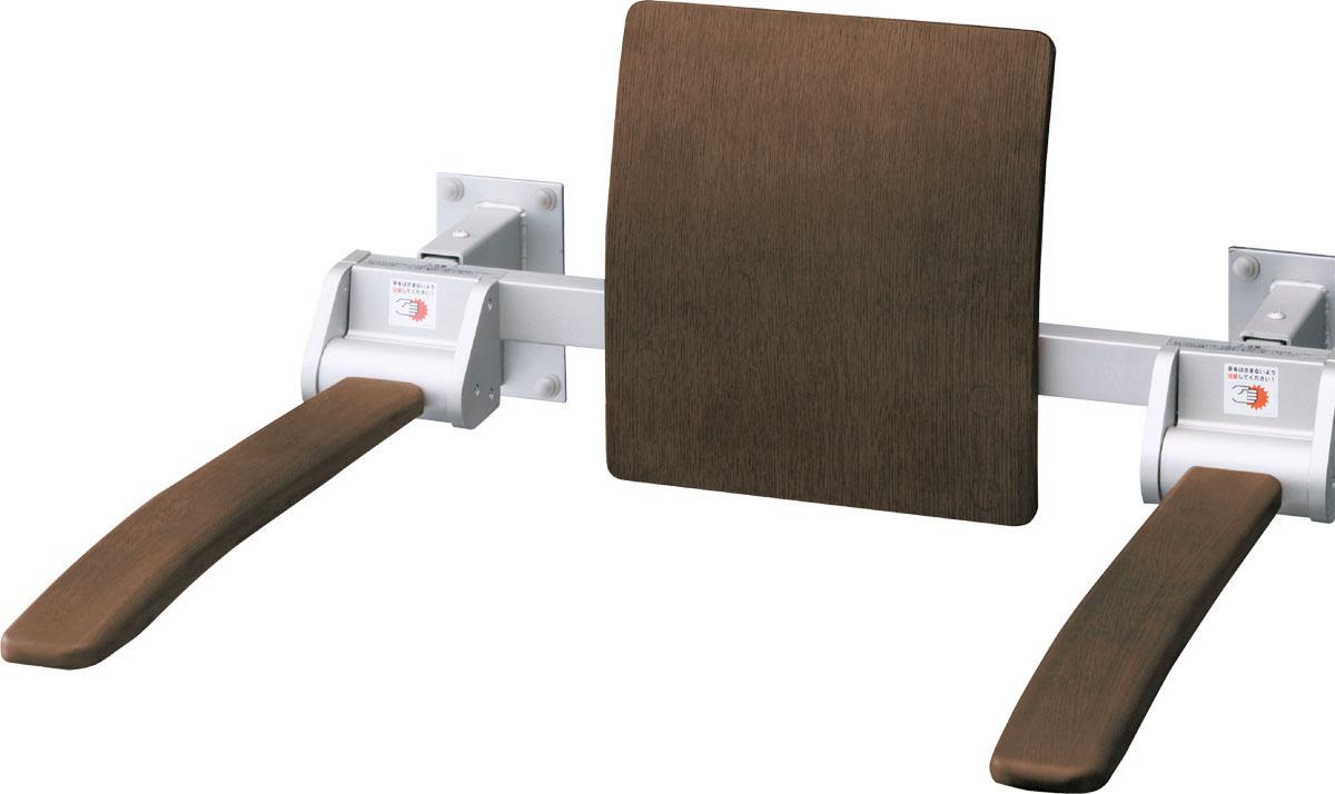LIXIL リクシル LIXIL【KFC-274KU】 リクシル 肘掛け手すり(壁付式) 天然木タイプ【KFC-274KU】 背もたれ付 ロングタイプ[新品], アズミムラ:552dc389 --- officewill.xsrv.jp