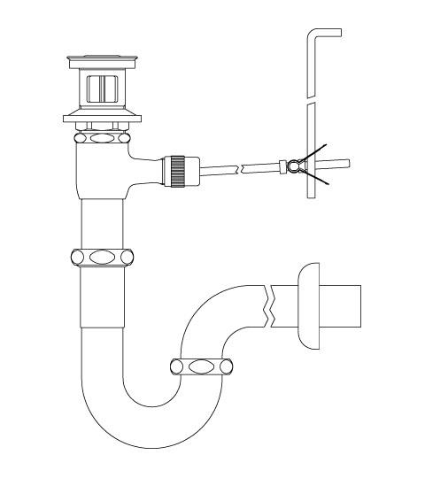 LIXIL リクシル 【LF-270PA】 シリーズ名: シリーズ外 品名: ポップアップ式排水Pトラップ[新品]