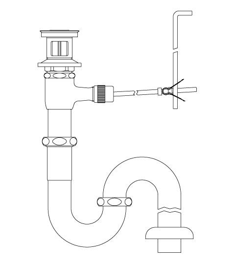 LIXIL リクシル 【LF-270SAL】 シリーズ名: シリーズ外 品名: ポップアップ式排水Sトラップ[新品]