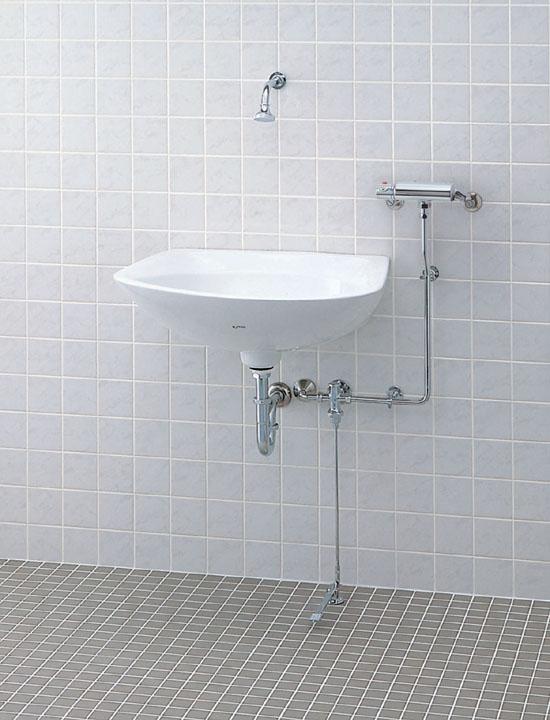 LIXIL リクシル 【LF-B51U】 シリーズ名: シリーズ外 品名: 壁吐水式サーモスタット混合水栓[新品]