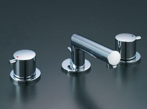 LIXIL リクシル 【LF-E130B】 シリーズ名: eモダン 品名: 2ハンドル混合水栓[新品]