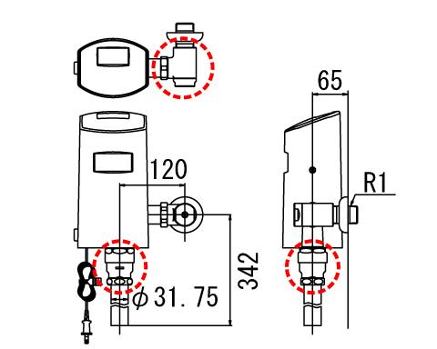 LIXIL リクシル【OKC-T6112S-C】 シリーズ名: オートフラッシュC 品名:【OKC-T6112S-C】 リクシル LIXIL オートフラッシュC センサー一体形(壁給水形)(中水用)[新品], 人形の丸富:76d9fc9e --- officewill.xsrv.jp