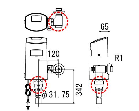 LIXIL リクシル【OKC-T6112SCW】 シリーズ名: オートフラッシュC 品名: LIXIL オートフラッシュC センサー一体形 リクシル シャワートイレ自動洗浄対応(壁給水形)[新品], ゴラッソ!:83d7c71c --- rods.org.uk