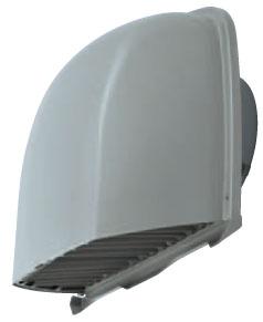 メルコエアテック 換気扇 【AT-175FWSK5】 外壁用(ステンレス製) 深形フード(ワイド水切タイプ)|縦ギャラリ・網 防火ダンパー付(120℃) [新品]