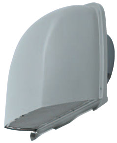 メルコエアテック 換気扇 【AT-200FNS6-BL3M】 外壁用(ステンレス製) 深形フード(ワイド水切タイプ)BL品|網 [新品]