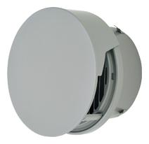 メルコエアテック 換気扇 【AT-250TCGSK】 外壁用(ステンレス製) 丸形防風板付ベントキャップ(覆い付)|縦ギャラリ(75~200タイプ)横ギャラリ(250・300タイプ) 防火ダンパー付(120℃) [新品]