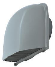 メルコエアテック 換気扇 【AT-150SWS5BB-BL3M】 外壁用(ステンレス製) 防音形深形フード(不燃・耐湿タイプ・ワイド水切タイプ)BL品|縦ギャラリ・網 [新品]