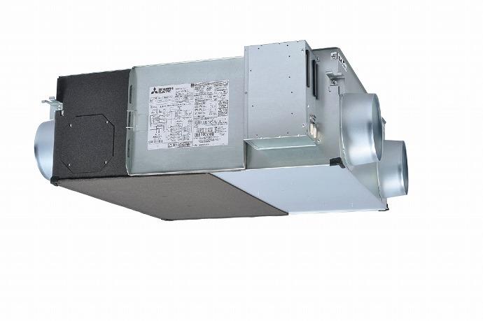 三菱 mitsubishi 換気扇 業務用ロスナイ [本体]業務用 天井埋込形 LGH-N50RS2D [新品]
