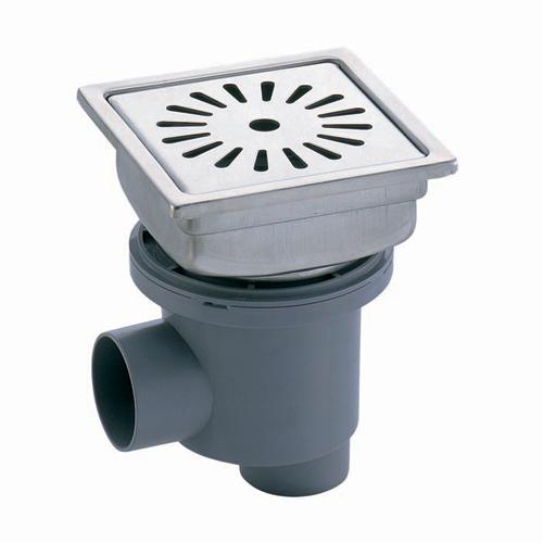 ミヤコ MIYAKO MS-150-Bトラップ付角型排水ユニット(偏芯トラップ付)【MS-150-B】 排水部材【メーカー直送のみ・代引き不可・NP後払い不可】[新品]