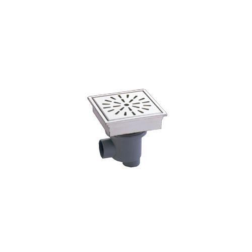 ミヤコ MIYAKO MS-200-Bトラップ付角型排水ユニット(偏芯トラップ付)【MS-200-B】 排水部材【メーカー直送のみ・代引き不可・NP後払い不可】[新品]