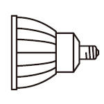ODELIC ランプガイド 【LDR11WW-M-E11/D/W】 LED電球ダイクロハロゲン形 オーデリック