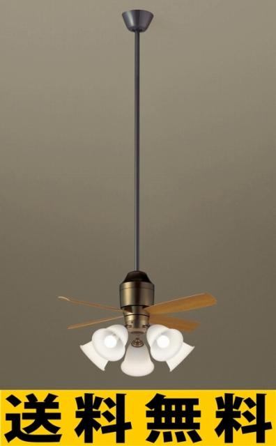 パナソニック 照明 直付吊下型 LED(電球色) シーリングファン(照明器具付) 100形電球5灯相当・5W 風量4段切替・逆回転切替・1/fゆらぎ・3時間タイマー/?14畳(当社独自基準) 【XS78542】[新品]