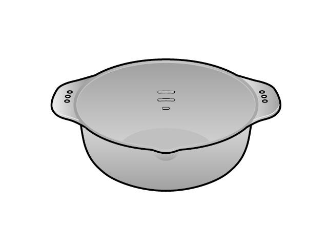 パナソニック 天ぷら鍋(シルバー調)  消耗品 卓上IH調理器 [新品]