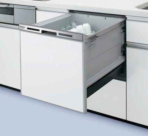 パナソニック Panasonic ビルトイン食器洗い乾燥機【NP-45MS8S】幅45cm M8シリーズ エコナビ 容量:約5人分 ドアパネル型 カラー:シルバー 食洗機 送料無料(NP-45MS7Sの後継機種)[新品]