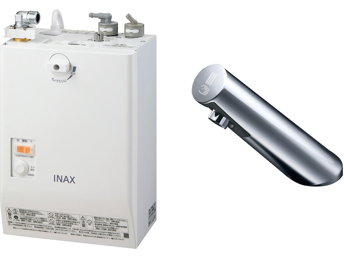 INAX・LIXIL 電気温水器【EHMN-CA3SA1-200】 3L ゆプラス 自動水栓一体型壁掛 適温出湯タイプ 自動水栓:オートマージュA [イナックス・リクシル]