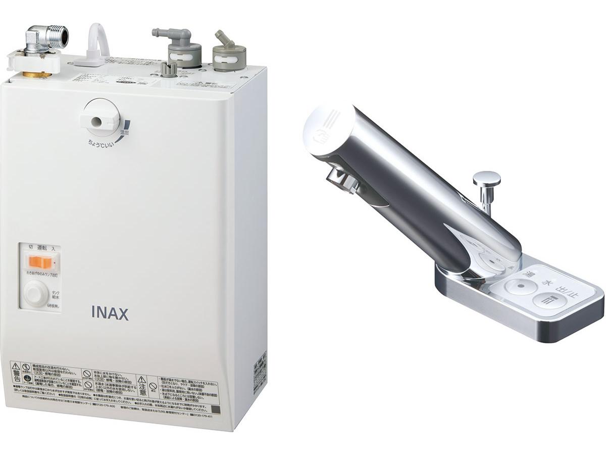 INAX・LIXIL 電気温水器【EHMN-CA3SA3-203】 3L ゆプラス 自動水栓一体型壁掛 適温出湯タイプ 自動水栓:オートマージュA 手動・湯水切替スイッチ付 [イナックス・リクシル]