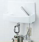 INAX LIXIL・リクシル 手洗器【YL-A74UW2B】温水自動水栓(100V) 同上水石けん入れ付タイプ アクアセラミック(受注後3日) 床給水床排水[新品]