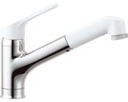 INAX LIXIL・リクシル キッチン用水栓金具ワンホールタイプ 吐水口引出式(ハンドシャワー付) ノルマーレ 寒冷地対応【SF-HE452SXN】[新品]