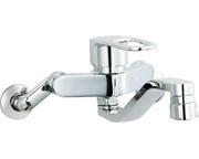 INAX LIXIL・リクシル キッチン用水栓金具壁付タイプ キッチンシャワー付 クロマーレS(エコハンドル) 【SF-WM433SY】[新品]