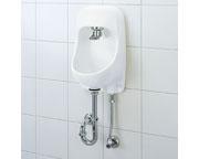 INAX LIXIL・リクシル 手洗器【YAWL-71UAP(P)-S】プッシュ式セルフストップ アクアセラミック(受注後3日) 床給水壁排水[新品]