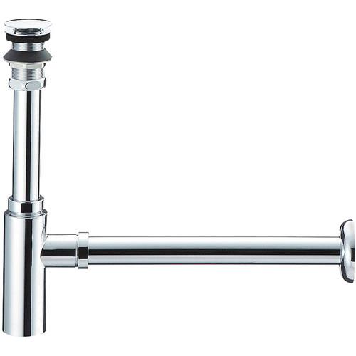 三栄水栓[SANEI] 洗面用品 洗面器トラップ アフレナシボトルトラップ 【H7610-25】[新品]