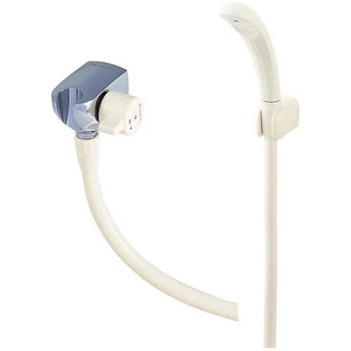 三栄水栓[SANEI] 混合水栓 バスルーム用 ハンドシャワー 【S32YV-13】 埋込シャワ・シャワパイプ オーバーヘッドシャワー[新品]