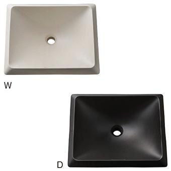 三栄水栓[SANEI]【HW10251-W】洗面器(信楽焼)[新品]