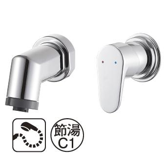 三栄水栓[SANEI]【K3715EV-13】シングルスプレー混合栓[新品]