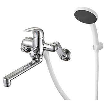 三栄水栓[SANEI]【SK170S5K-13】シングルシャワー混合栓[新品]