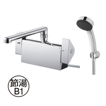 三栄水栓[SANEI]【SK781R-1-S9L30】サーモデッキシャワー混合栓[新品]
