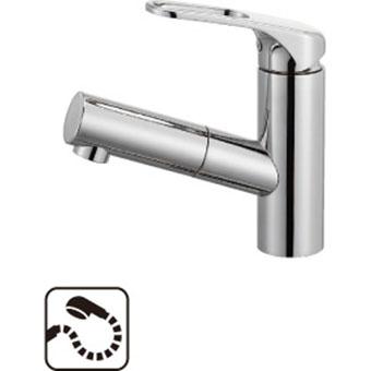 三栄水栓[SANEI] シングルワンホール洗面混合栓(省施工ナット付)【K47531JV-U-13】[新品]