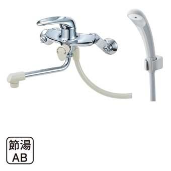 三栄水栓[SANEI]【CSK1710D-13】シングルシャワー混合栓[新品]
