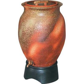 三栄水栓[SANEI]【EC2015S-100L】雨水タンク(信楽焼)[新品]