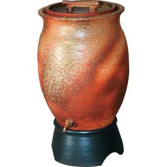 三栄水栓[SANEI]【EC2015S-50L】雨水タンク(信楽焼)[新品]