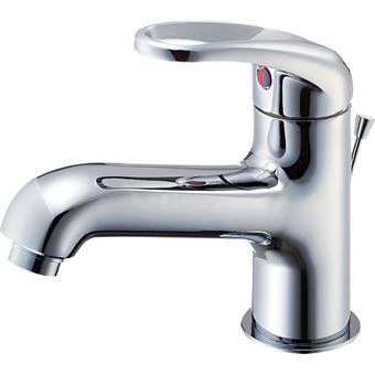 三栄水栓[SANEI]【K4710PJV-13】シングルワンホール洗面混合栓[新品]
