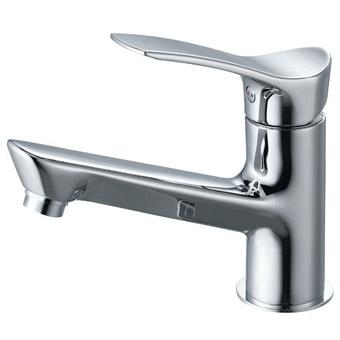三栄水栓[SANEI]【K4712NJK-13】シングルワンホール洗面混合栓[新品]