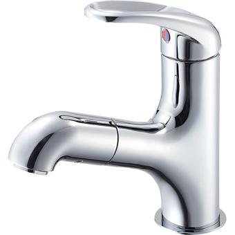 三栄水栓[SANEI]【K4713JK-13】シングルワンホール混合栓(洗髪用)[新品]