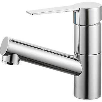 三栄水栓[SANEI]【K475NJV-1-13】シングルワンホール洗面混合栓[新品]