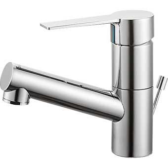 三栄水栓[SANEI]【K475PJK-1-13】シングルワンホール洗面混合栓[新品]