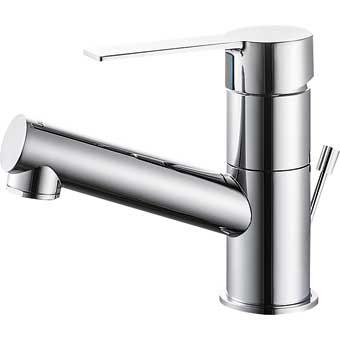 三栄水栓[SANEI]【K475PJKZ-1-13】シングルワンホール洗面混合栓[新品]