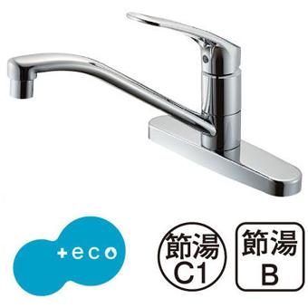 三栄水栓[SANEI]【K676EK-13】シングル台付混合栓[新品]