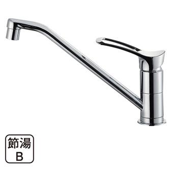 三栄水栓[SANEI]【K8712JV-13】シングルワンホール混合栓[新品]