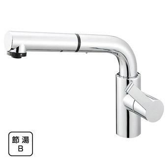三栄水栓[SANEI]【K87520JV-13】シングルワンホールスプレー混合栓[新品]